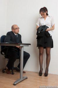 le patron et sa secrétaire